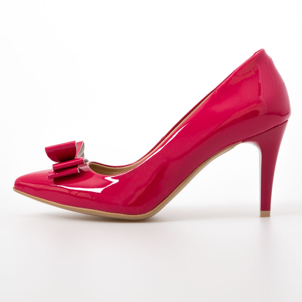 83d0a4ab2716 Pink Heels with Bow – Chalany Shoes