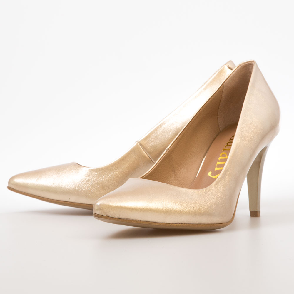 bb8c6df2fca8 Gold Metallic Pumps – Chalany Shoes