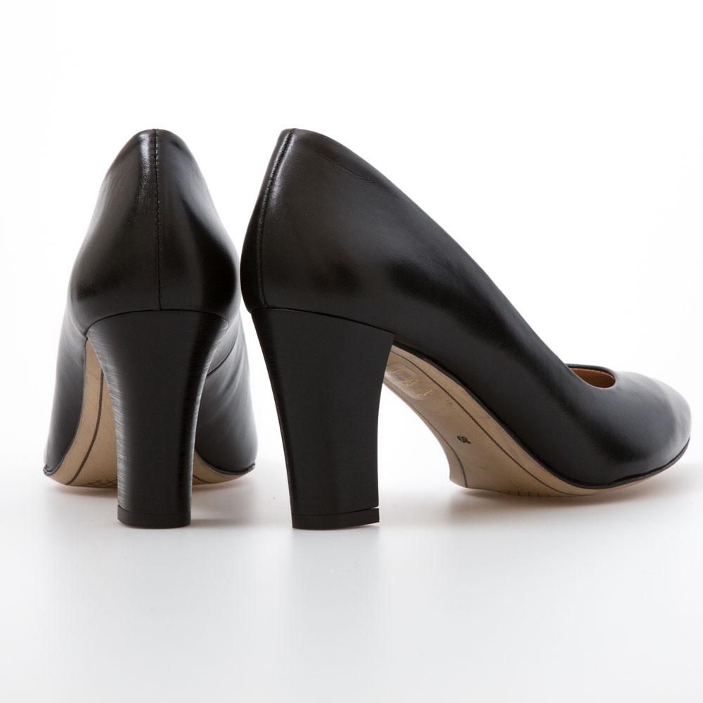 0595db9a83b6 ... Heels Black Leather Heels. Sale!   