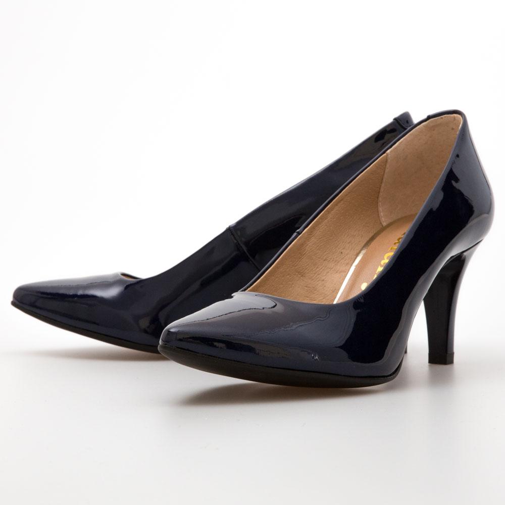 db1a5dc8dd1f Dark Blue Patent Pumps – Chalany Shoes