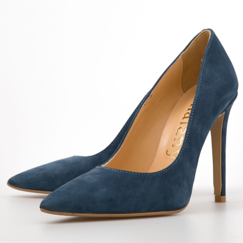 010d8914387 Navy Suede Pumps – Chalany Shoes