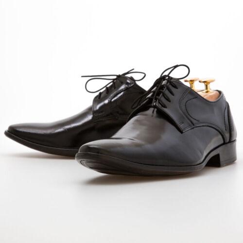 e131f33e7230 Black Pointed Leather Shoes